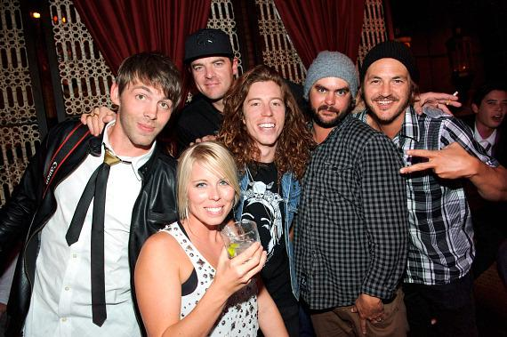 Shaun White and friends at LAVO
