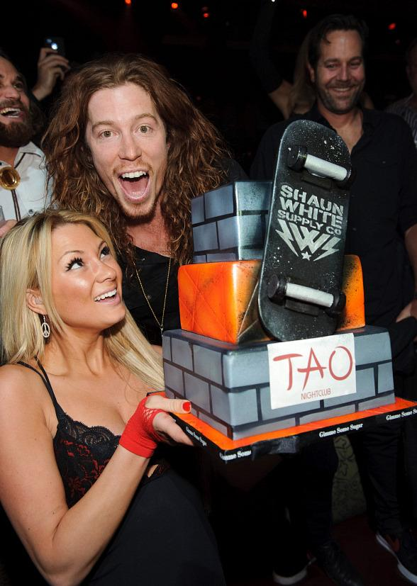 Shaun White at TAO in Las Vegas