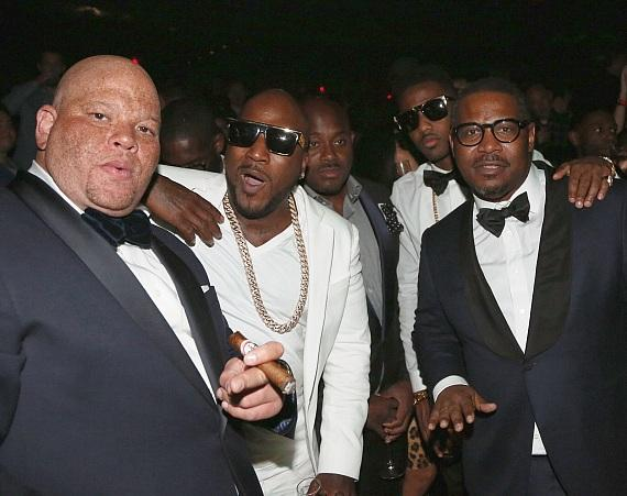 Shawn 'Pecas' Costner, Young Jeezy, Steve Stoute, Fabolous, and Emory Jones