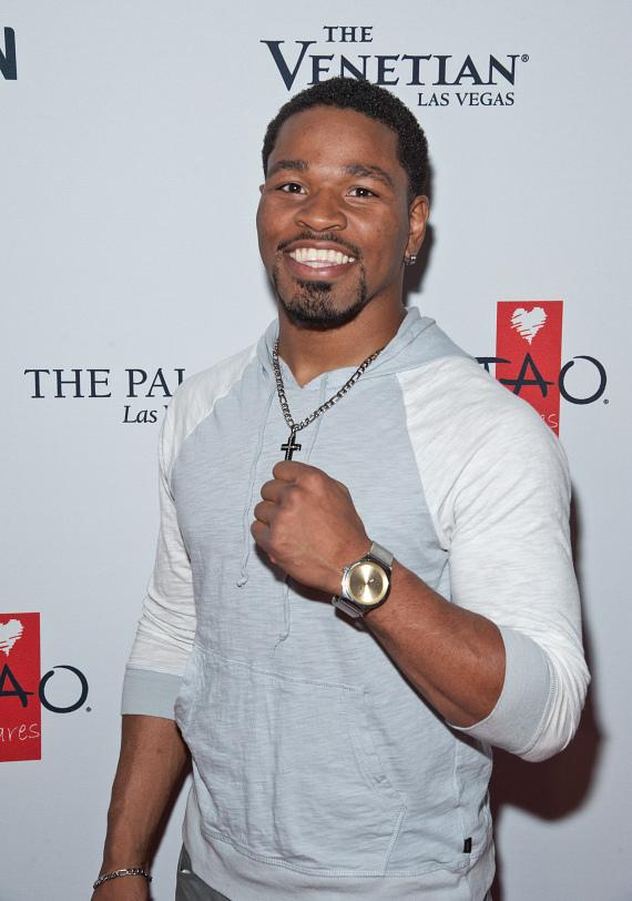 Shawn Porter on the 2015 TopSpin Charity Ping Pong Tournament Red Carpet