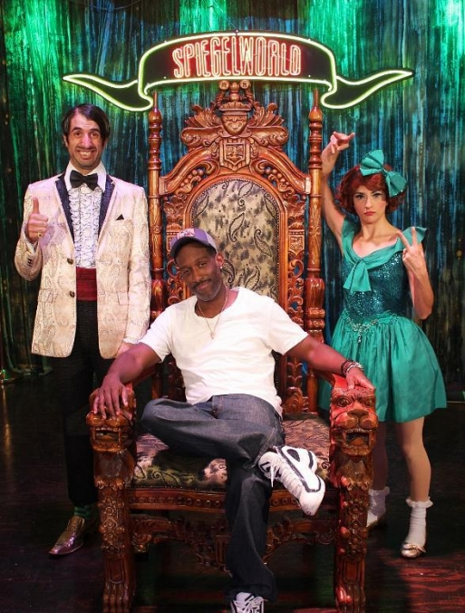 Boyz II Men's Shawn Stockman with Melody Sweets of ABSINTHE