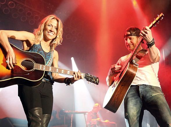 Sheryl Crow and Dierks Bentley