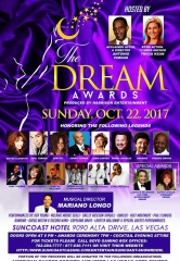 "Harrison Entertainment Group to Host ""The Dream Awards"" at Suncoast Hotel & Casino in Las Vegas Oct. 22, 2017"