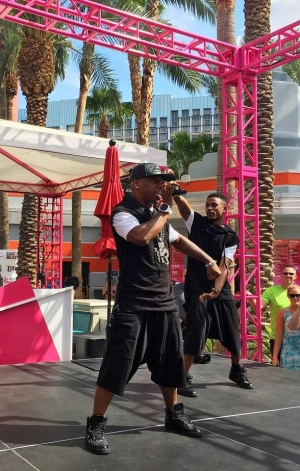 Sisqo Heats Up Flamingo GO Pool in Las Vegas