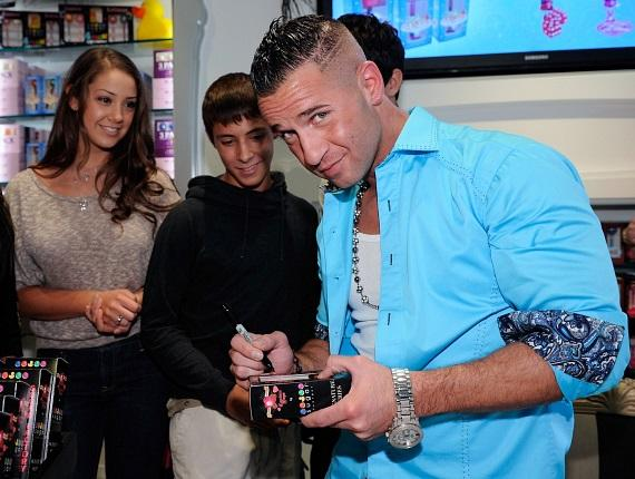 The Situation signs for fans at Sugar Factory in Las Vegas