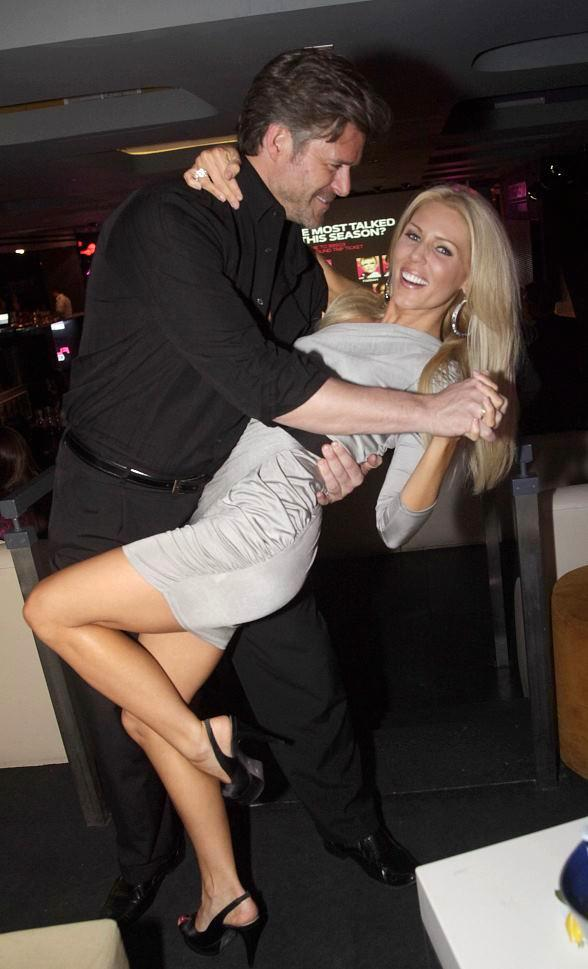 Slade Smiley dipping Gretchen Rossi
