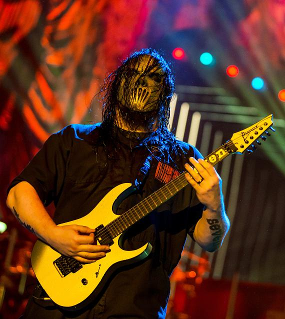 Slipknot performs at MGM Resorts Village in Las Vegas