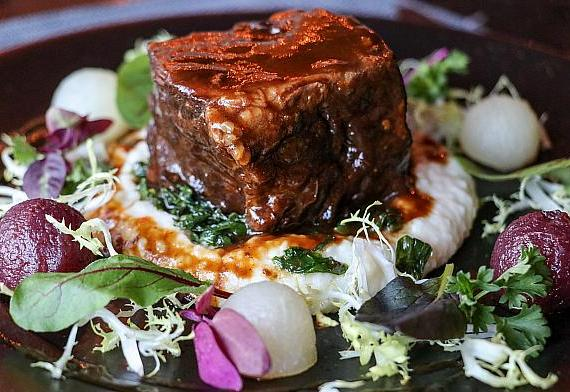 Slow Cooked Short Rib