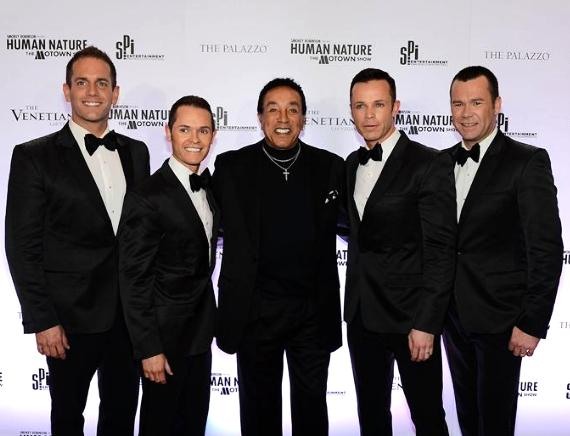 Smokey Robinson and Human Nature at The Venetian
