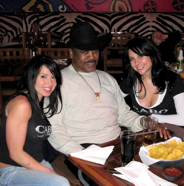 Joe Frazier at Cabo Wabo Cantina in Las Vegas