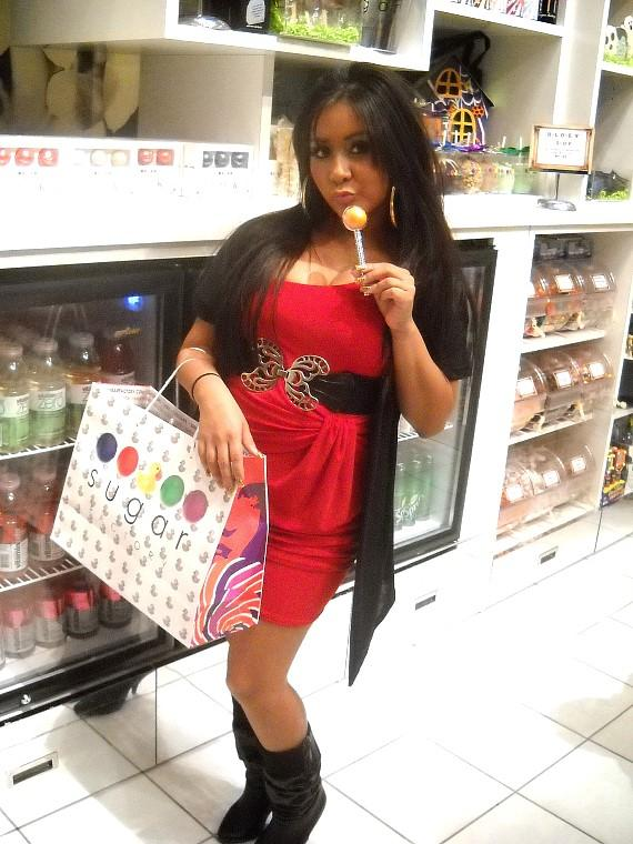 Snooki at Sugar Factory at The Mirage in Las Vegas