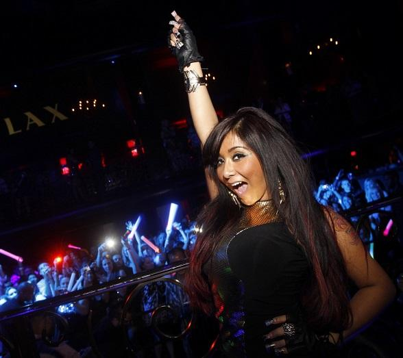 Nicole 'Snooki' Polizzi Celebrates 24th Birthday at LAX Nightclub