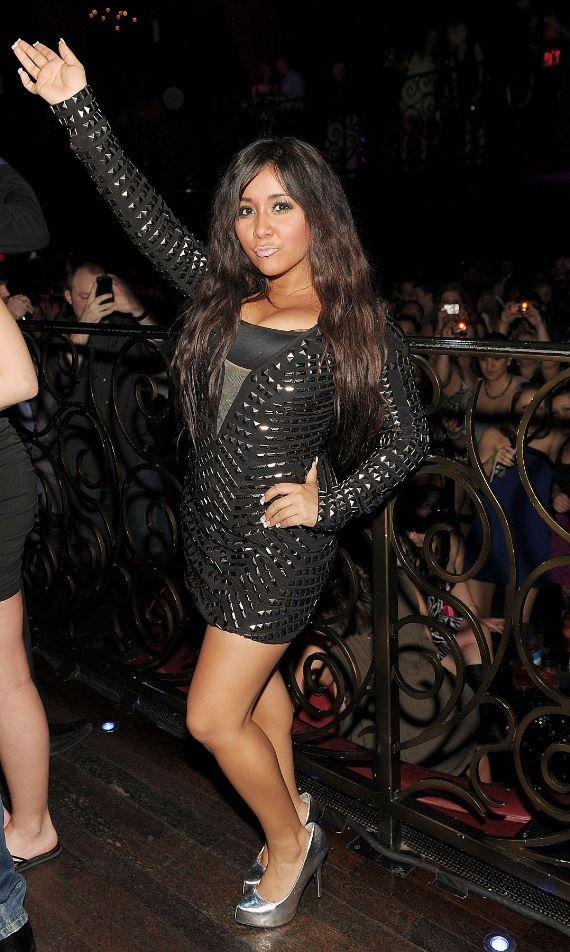 Jersey Shore's Snooki kicks off Spring Break at LAX Nightclub