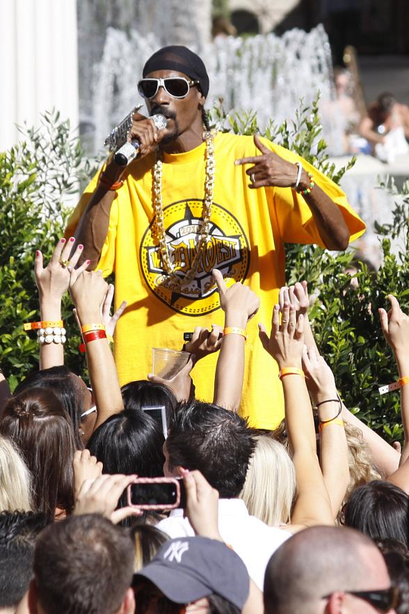 Snoop Dogg at Venus Pool Club