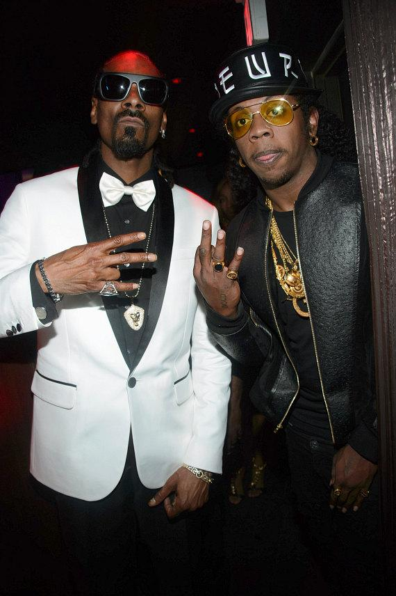 Snoop Dogg and Trinidad James at TAO