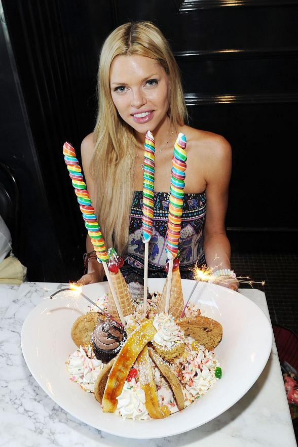 Sophie Monk Gets Silly and Sweet at Sugar Factory in Las Vegas