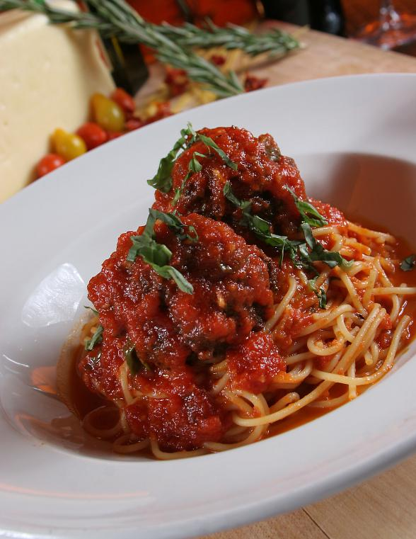 Spaghetti  Meatballs at TREVI
