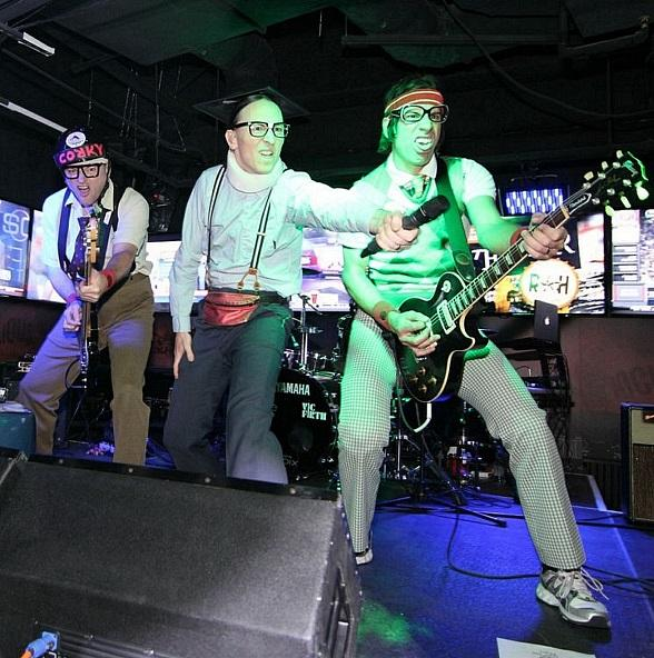 The Spazmatics Perform at Rockhouse at The Venetian