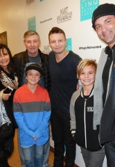 "Britney Spears' sons attend ""Mat Franco – Magic Reinvented Nightly"" at The LINQ Hotel & Casino"