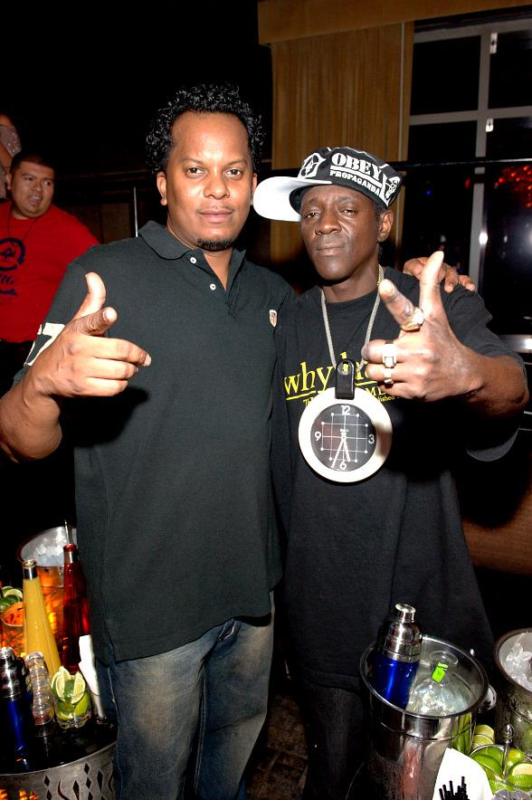 Special Ed and Flavor Flav at Old School Wednesdays at LAVO