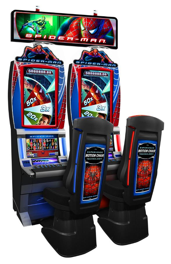 WMS New SPIDER-MAN Slot Game Will Swing into Action at 2012 Global Gaming Expo 