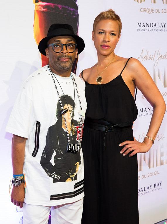 Spike Lee and wife Tonya Lewis
