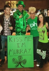 "MURRAY on ""Right This Minute"" Today at O'Sheas with Brian Thomas – Happy St. Paddy's Day!"