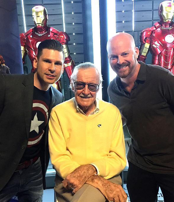 "Mike Hammer and Brian Shapiro of ""The Vegas Take"" interview Comic Book Legend Stan Lee"