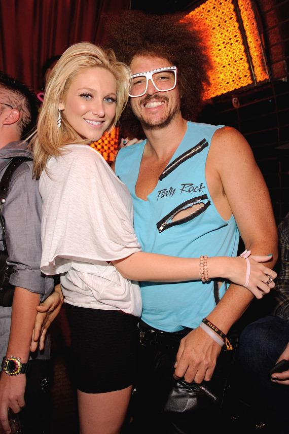 Stephanie Pratt and Redfoo at LAVO