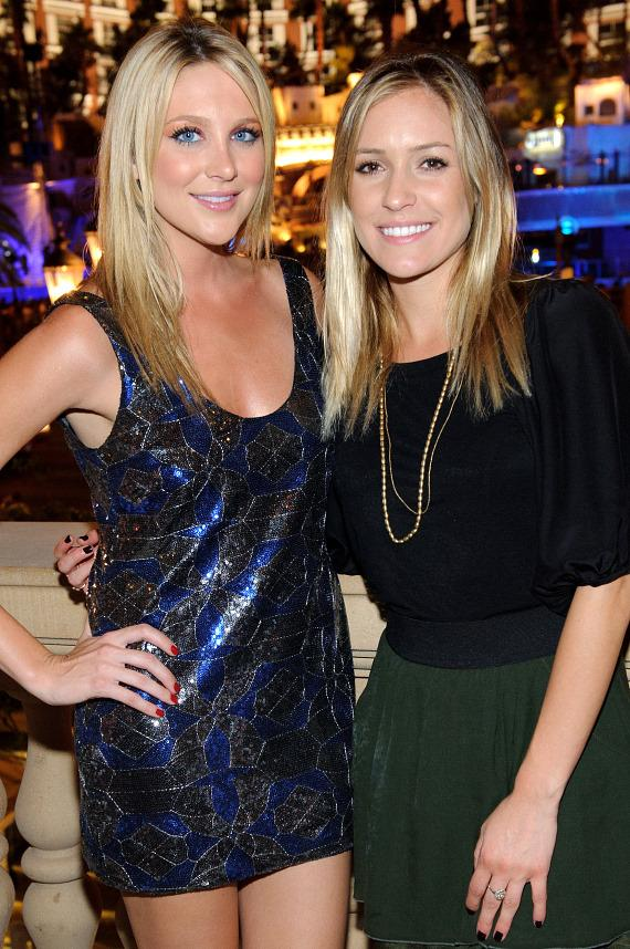 Stephanie Pratt and Kristin Cavallari at LAVO