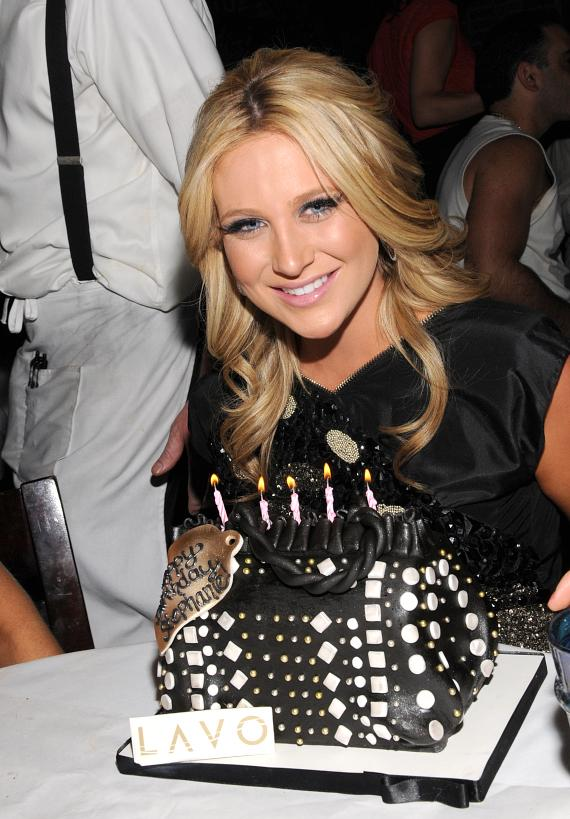 Stephanie Pratt birthday at LAVO