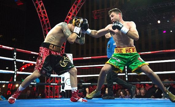 "Stephen ""The Dragon"" Claggett vs Chris ""The Heat"" Van Heerden at ""Knockout Night at the D Las Vegas"""