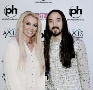 "Steve Aoki at ""Britney: Piece of Me"" at Planet Hollywood Resort & Casino"
