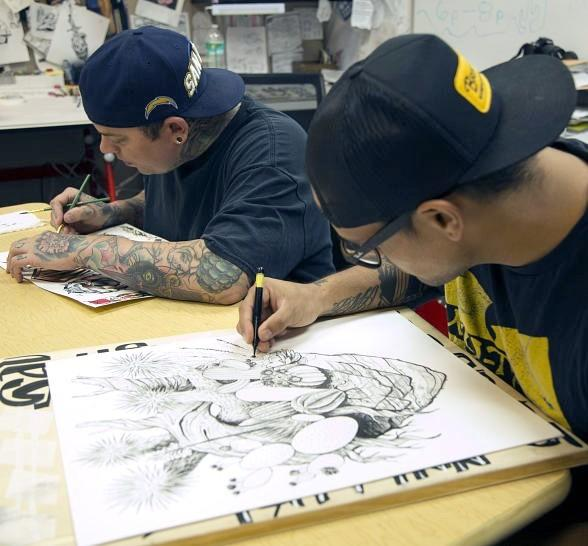 """Hot, Dry and Inked"" Explores how the Desert Influences Tattoo Artists; New Tattoo Art Exhibit at The Springs Preserve Opens Sept. 18"