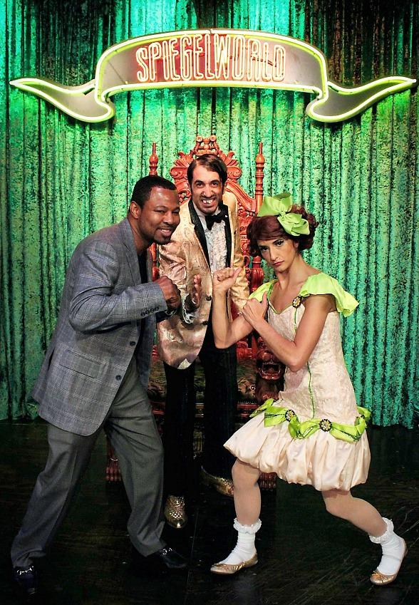 "Former Three-Divison Boxing Champion ""Sugar"" Shane Mosley Attends ABSINTHE at Caesars Palace"