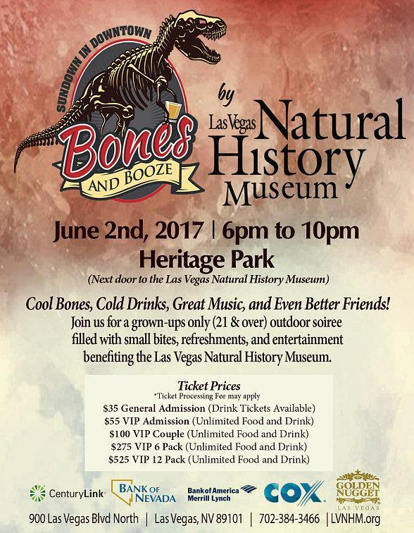 Sundown in Downtown is Back for its 6th Year at Las Vegas Natural History Museum Friday, June 2