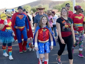 25th Anniversary Superhero Race and Event for Kids with Cancer Sept. 12