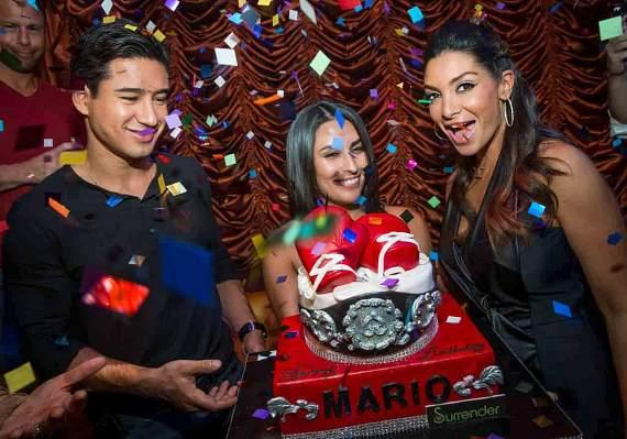 Mario Lopez and Courtney Mazza Lopez at Surrender