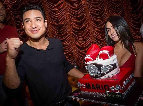 Mario Lopez at Surrender