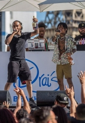 Rae Sremmurd's Swae Lee Celebrates 24th Birthday at Drai's Beachclub Las Vegas