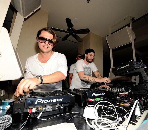 Swedish House Mafia performing at WET REPUBLIC