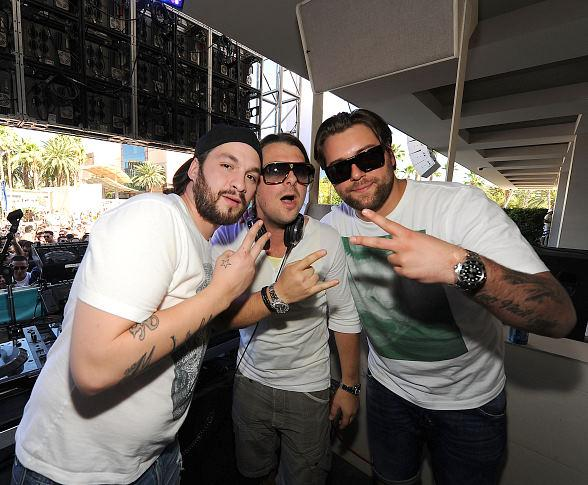 Swedish House Mafia in DJ Booth