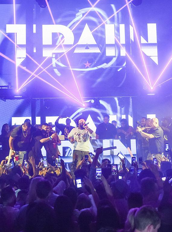 T-Pain Performes at the Official HartBeat Weekend After Party