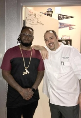 Grammy Award-winning Artist T-Pain Dines at N9NE Steakhouse at Palms Casino Resort