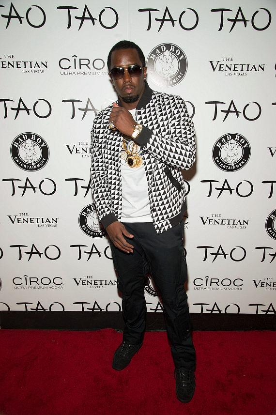 Diddy on Red Carpet at TAO