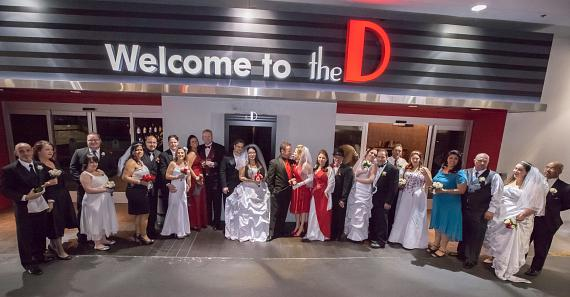 The D Las Vegas 12-12-12 weddings