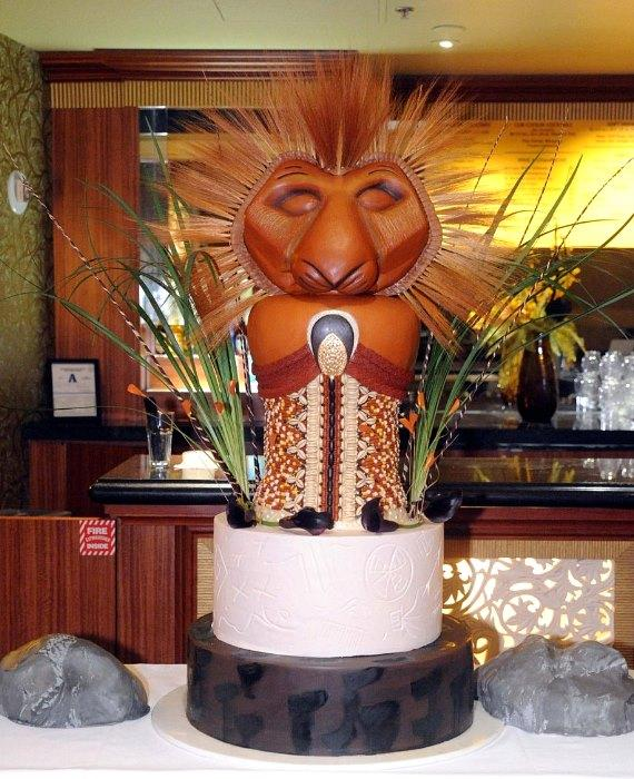 THE LION KING 2nd Anniversary Cake