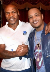 "Rapper T.I. attends ""Mike Tyson Undisputed Truth"" at MGM Grand in Las Vegas"