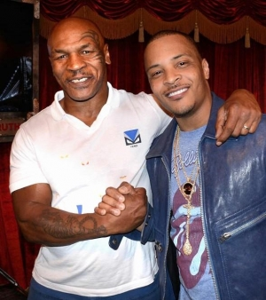 "Rapper T.I. attend ""Mike Tyson Undisputed Truth"" at MGM Grand in Las Vegas"
