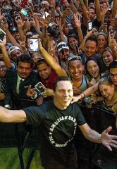 DJ Tiesto kicks off EDC Weekend in Vegas on the Fremont Street Experience at the D Casino Hotel Las Vegas